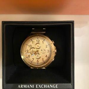 Armani exchange watch used
